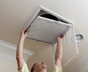 Change filters at least four times per year