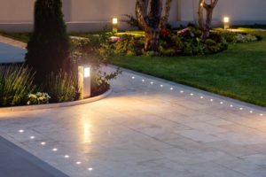 Landscape lighting can add safety and value to your home