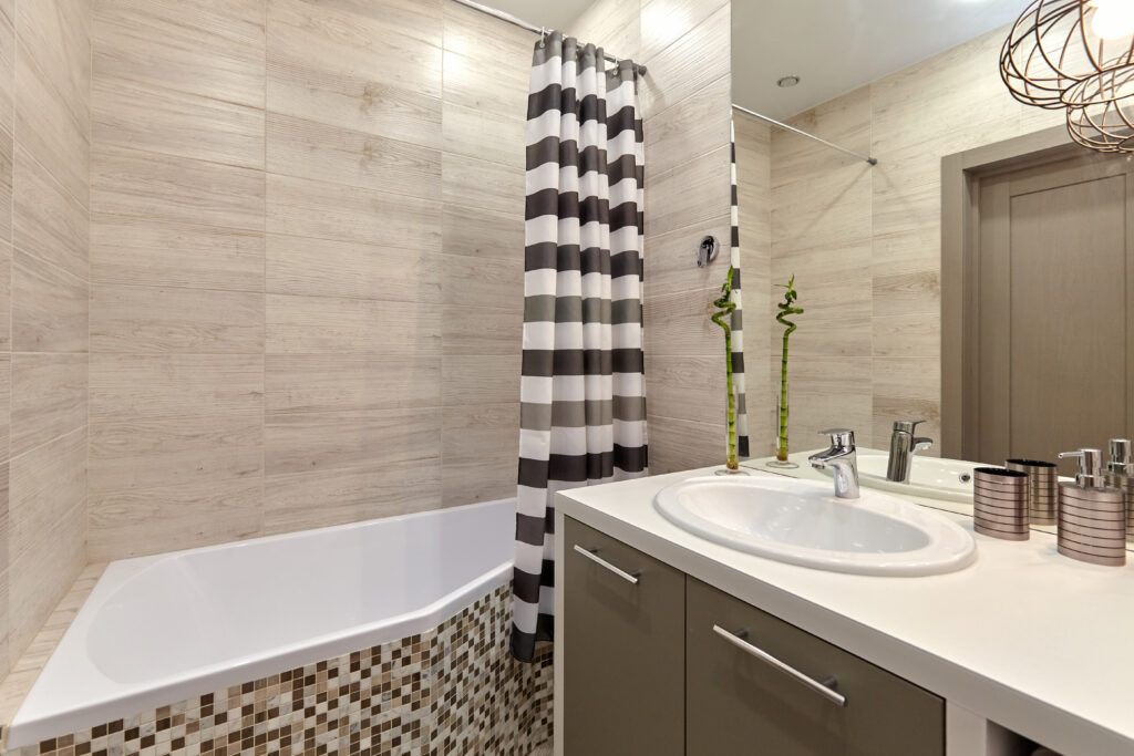 Add light to a windowless bathroom