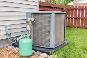 hvac condenser and refrigerant