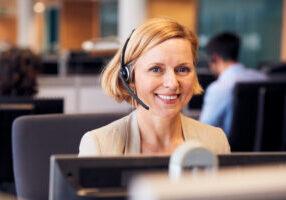 women in customer service
